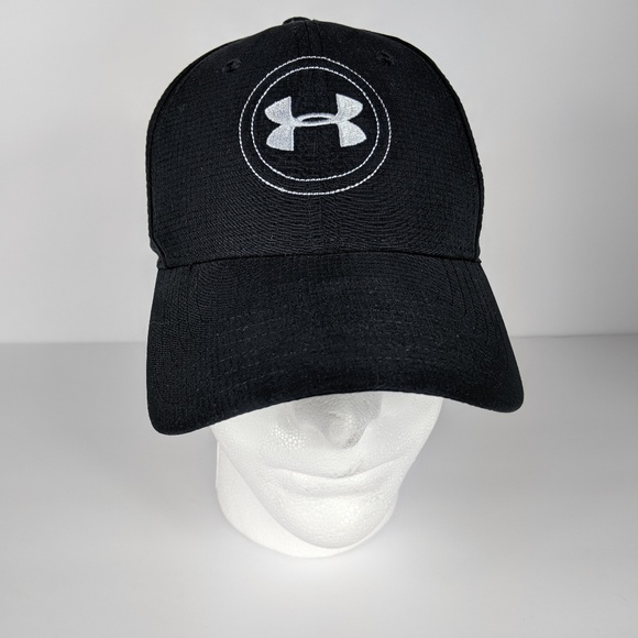 Under Armour Other - 🌻 Under Armour Golf Black Fitted Hat Cap